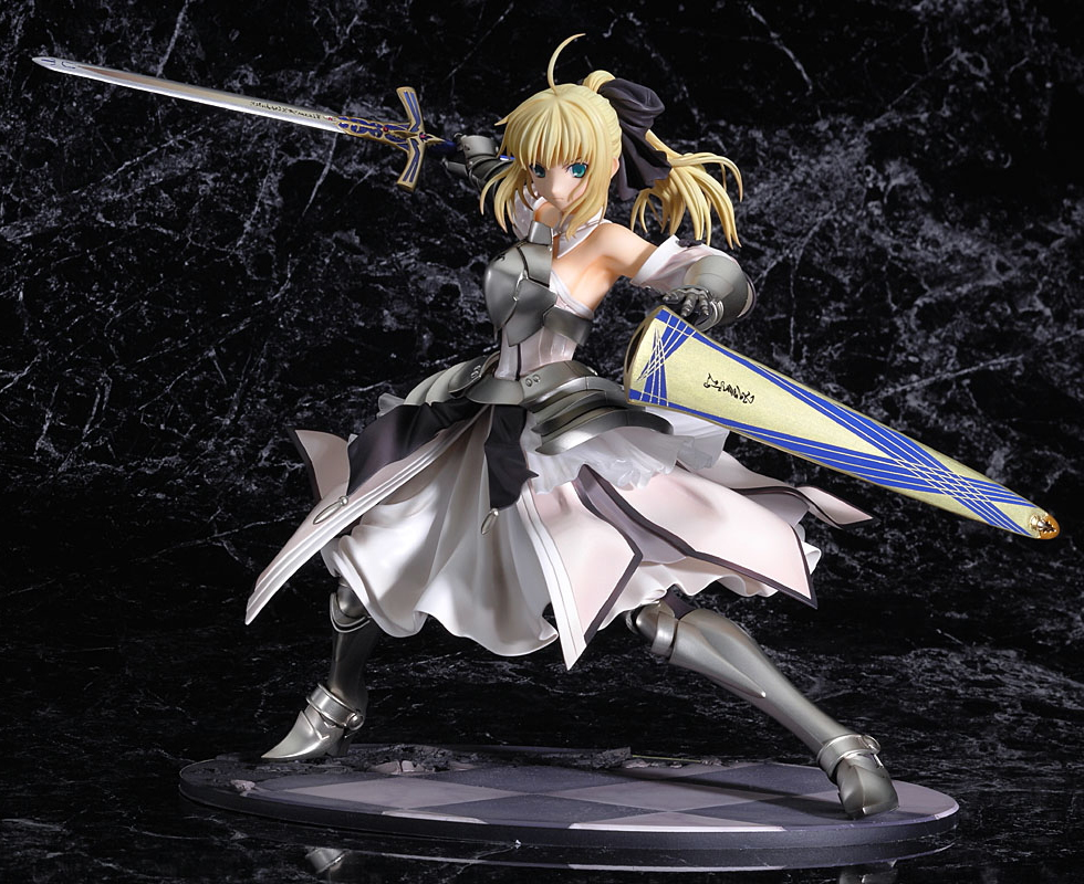 saber_lily good_smile_company fate/unlimited_codes kawahara_takayuki