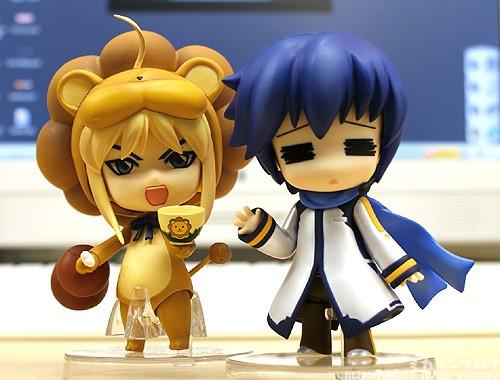 vocaloid nendoroid kaito saber_lion good_smile_company fate/tiger_colosseum nendoron ageta_yukiwo