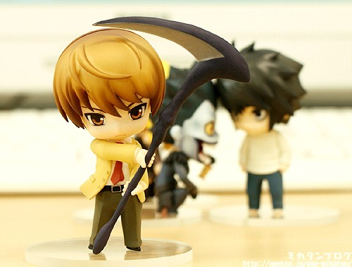 nendoroid_petit good_smile_company death_note ryuuk yagami_light l nendoron