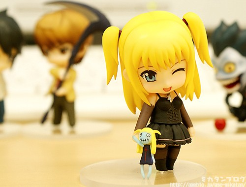 nendoroid_petit good_smile_company death_note ryuuk yagami_light l amane_misa nendoron