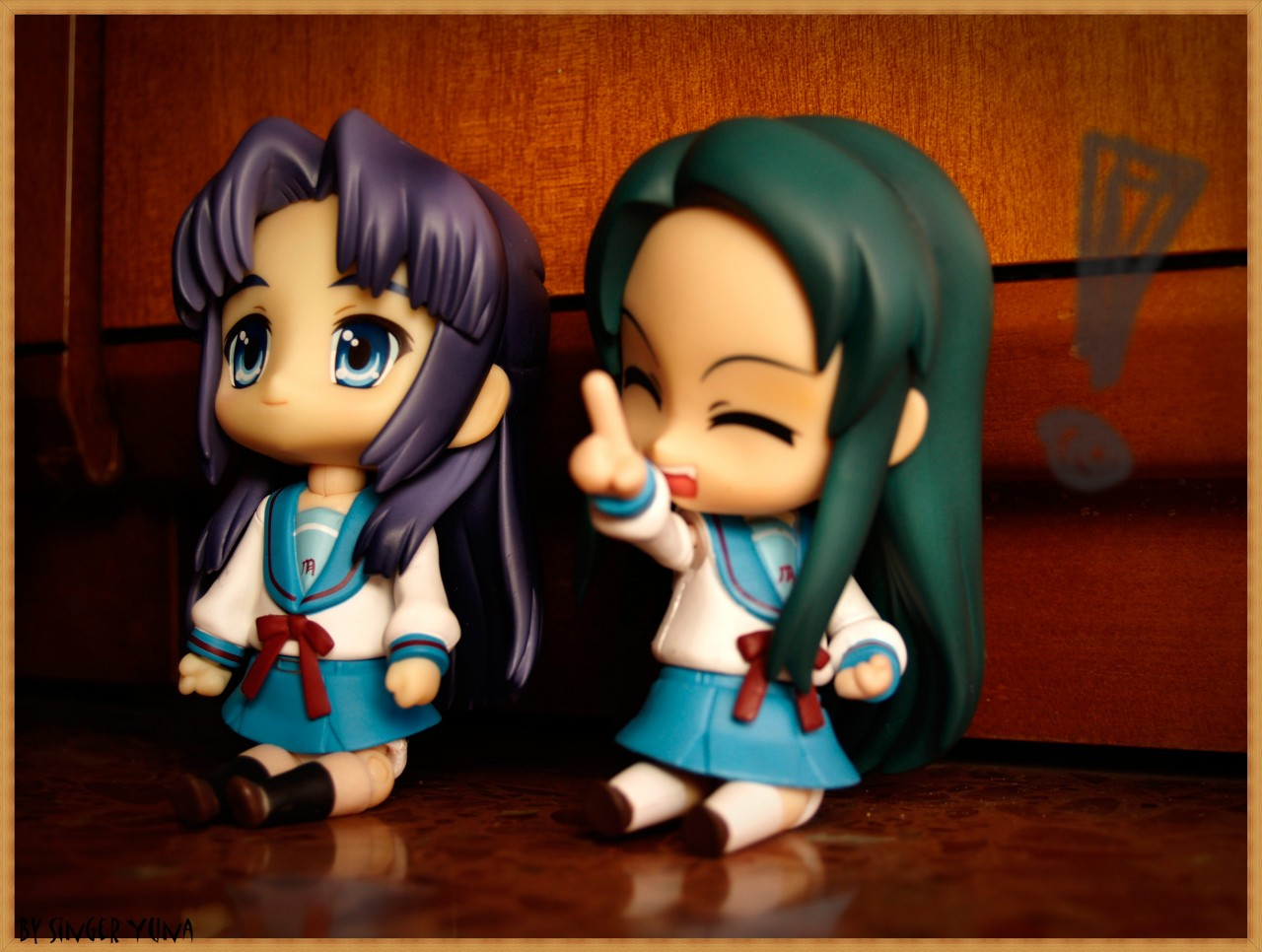 nendoroid good_smile_company tsuruya-san suzumiya_haruhi_no_yuuutsu asakura_ryouko nendoron ebisawa_kyosuke