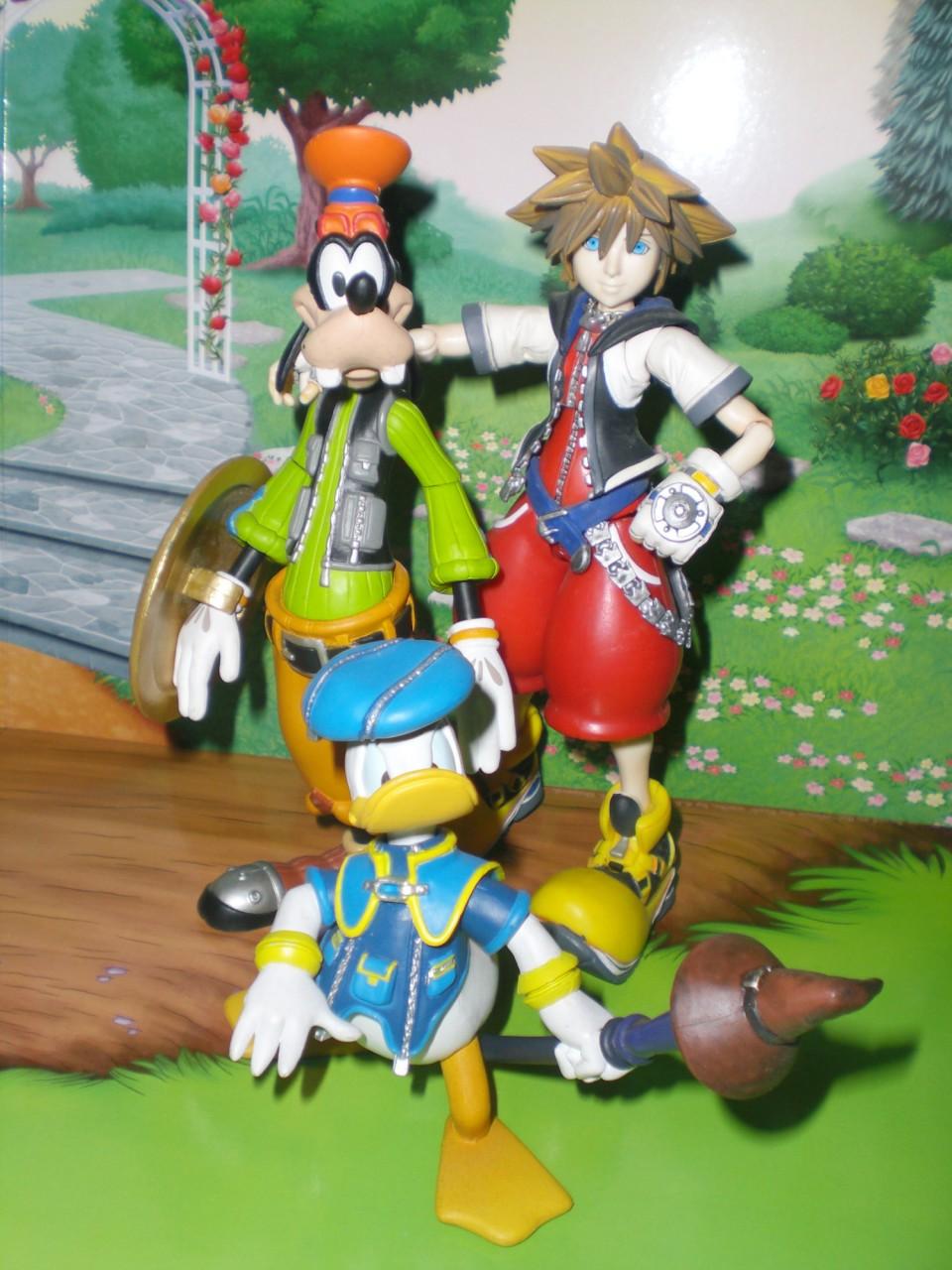 kotobukiya square_enix play_arts kingdom_hearts sora