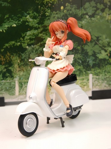 figma bike scooter white freeing ride ex:ride vintage_bike vintage