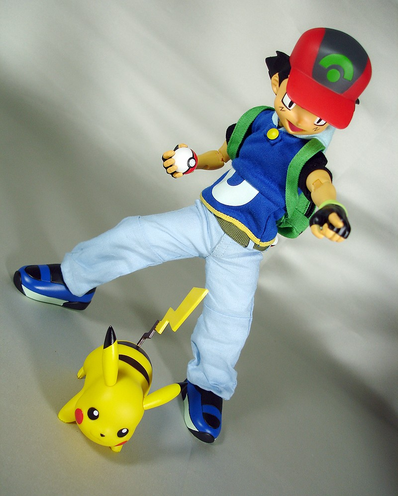pikachu pocket_monsters medicom_toy real_action_heroes satoshi