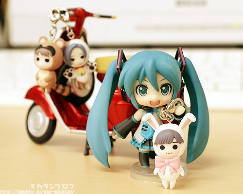 bike smile scooter charm collection freeing good_smile_company company ride ex:ride vintage_bike vintage