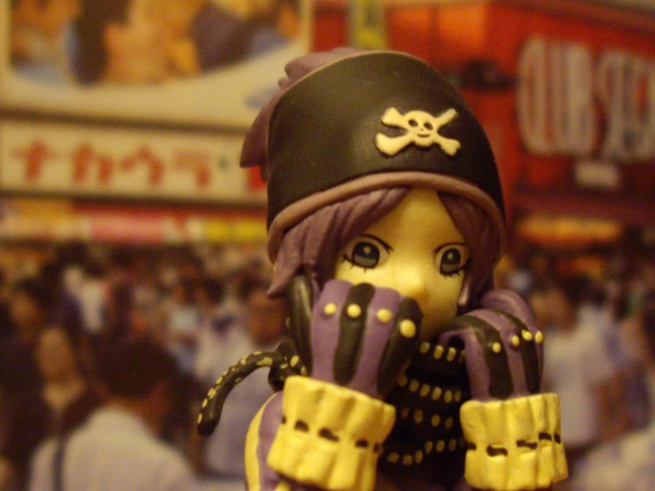"""organic vice maeshima_shigeki pez pez_&_hot_strawberry """"robot""""_trading_figures_set"""
