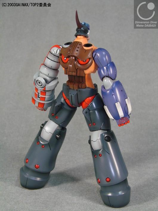 resin dimension_diver toppu_o_nerae_2! buster_machine_dix-neuf daikokuya_koubou