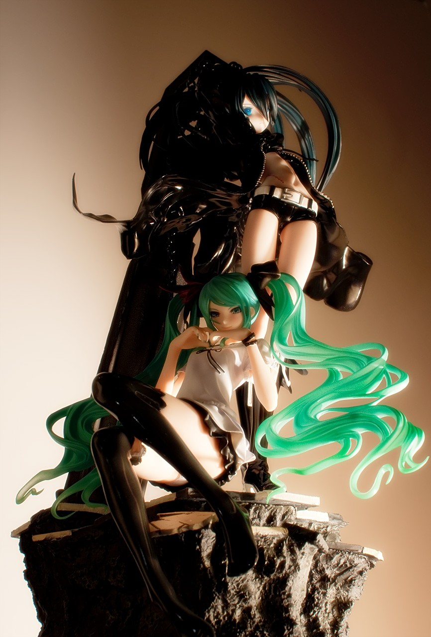 vocaloid hatsune_miku good_smile_company akeji black_★_rock_shooter ishinaga_sakurako