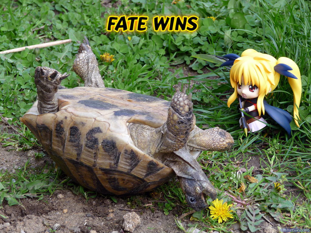 nendoroid good_smile_company fate_testarossa mahou_shoujo_lyrical_nanoha_the_movie_1st yoshio_(laugh)