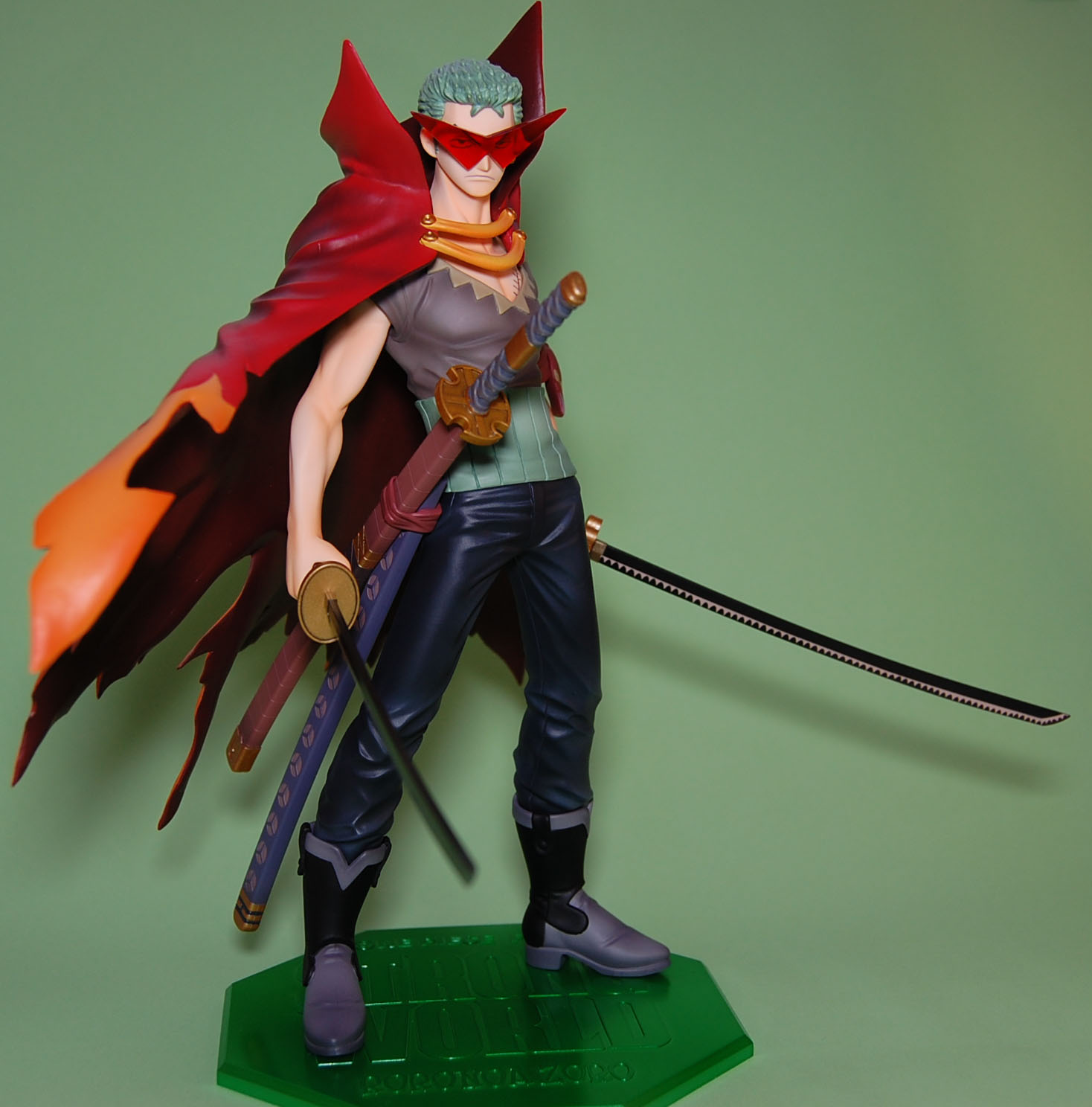megahouse one_piece uplark roronoa_zoro kamina black_sabasu portrait_of_pirates_strong_edition tengen_toppa_gurren-lagann