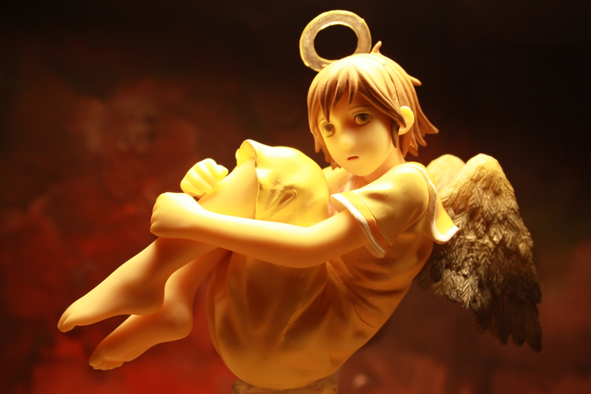 wings bed haibane angel yamato rakka renmei yoshitoshi haibane_renmei kobayashi_makoto