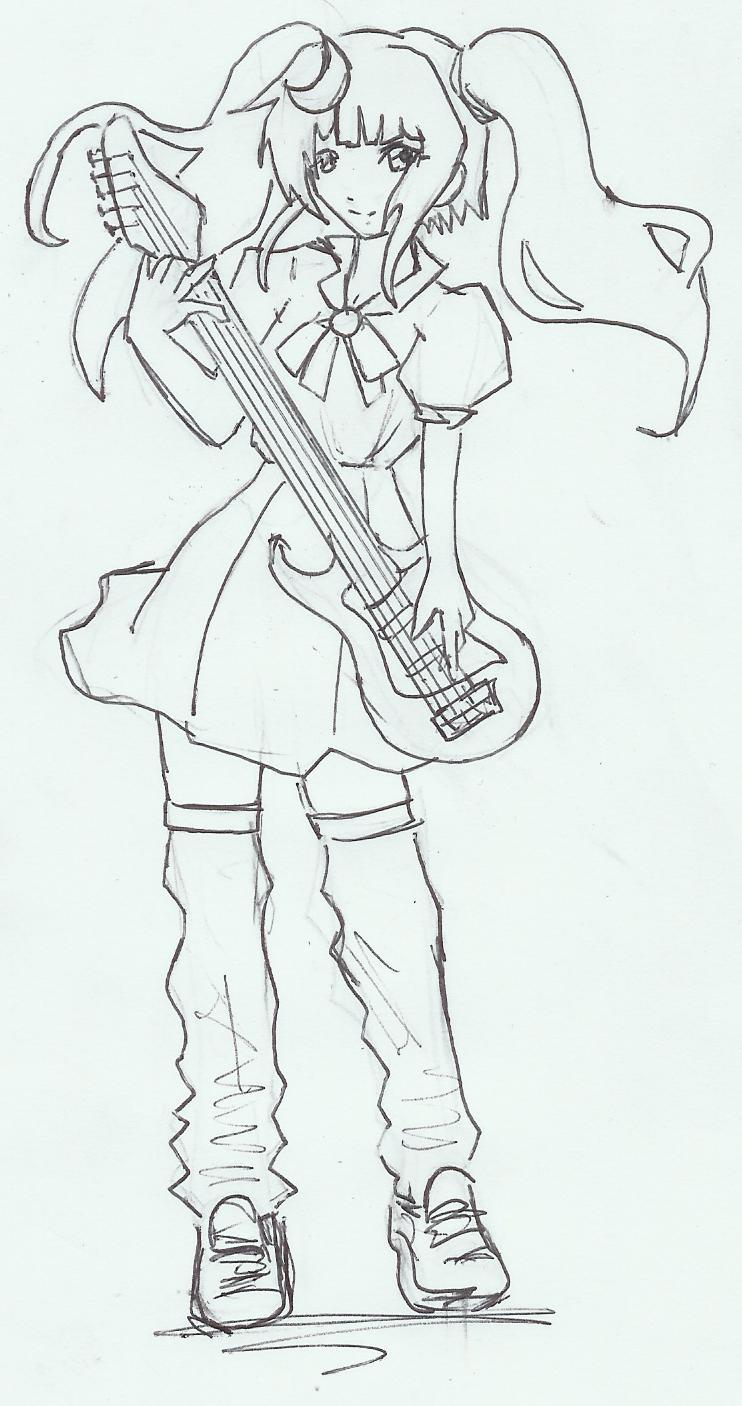 guitar tsuko-tan