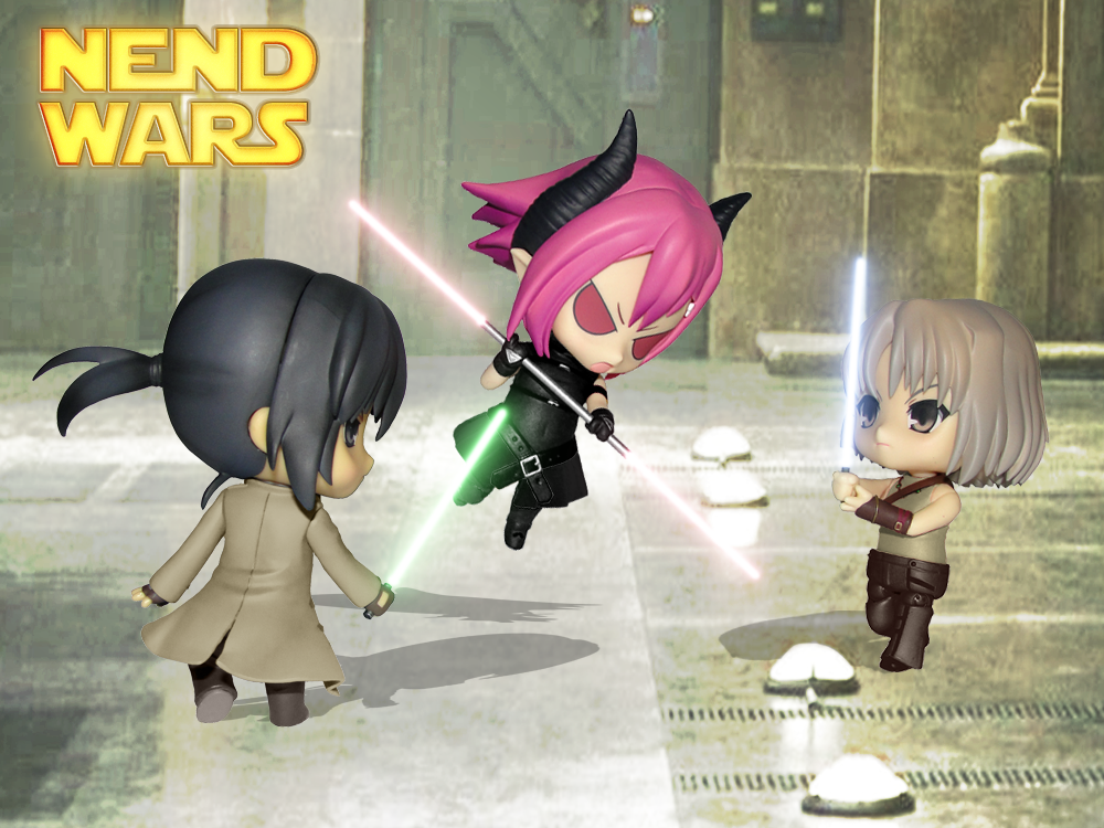nendoroid parody star_wars nendo_x_movies