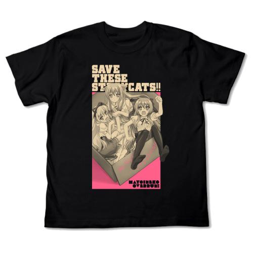 t-shirt cospa mayoi_neko_overrun! serizawa_fumino cotton kiriya_nozomi umenomori_chise