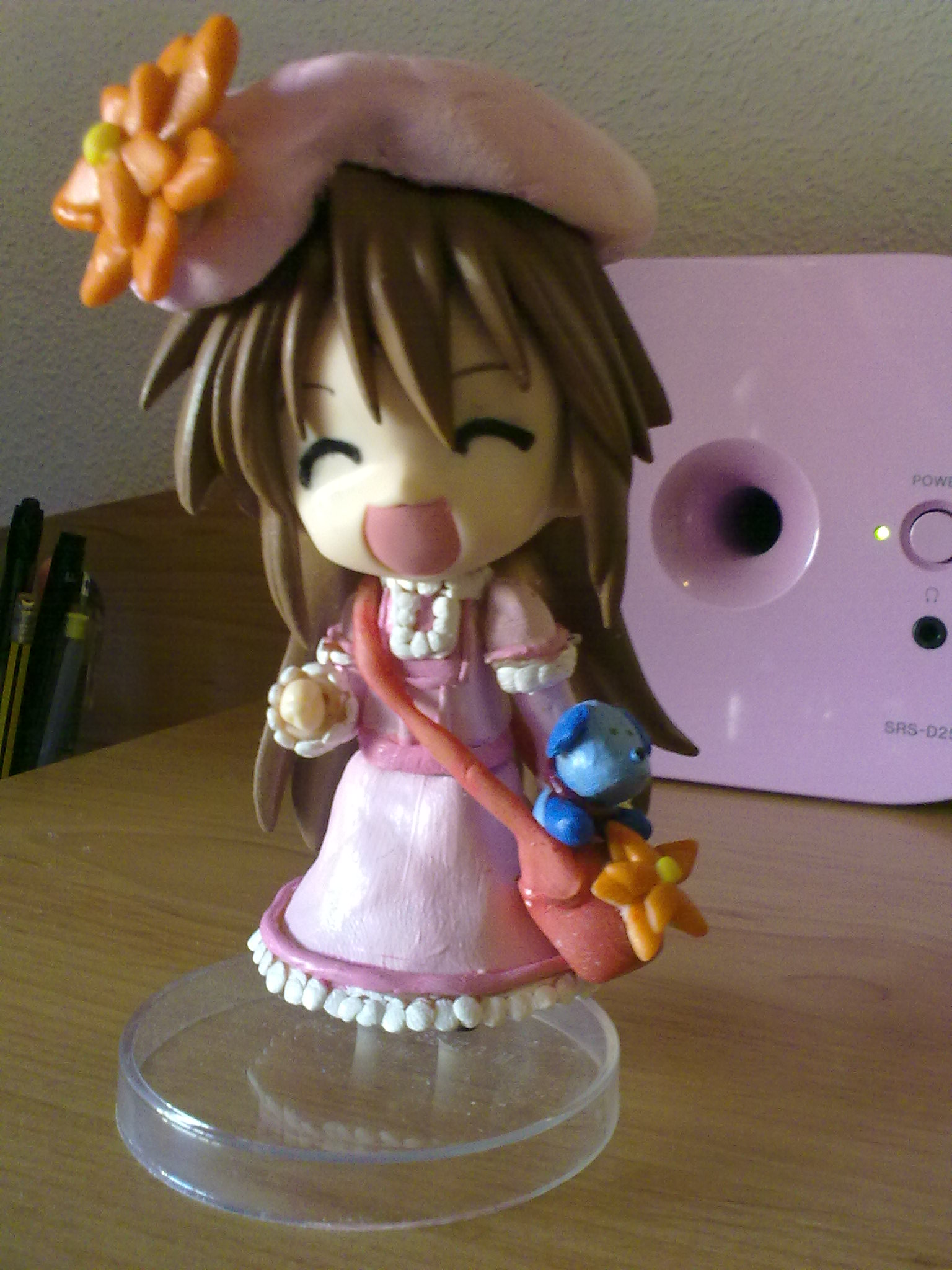dress hat bag happy pink kobato ioryogi