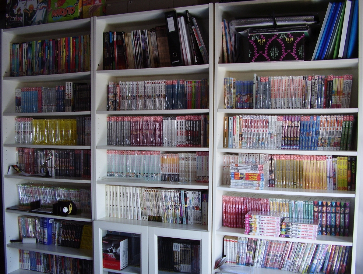 manga bedroom