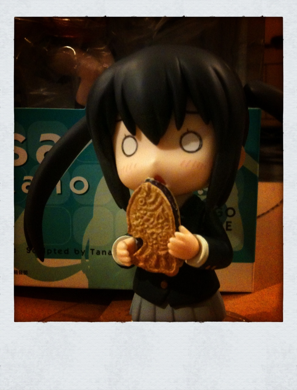 taiyaki nendoroid k-on! re-ment azu-nyan iphoneography