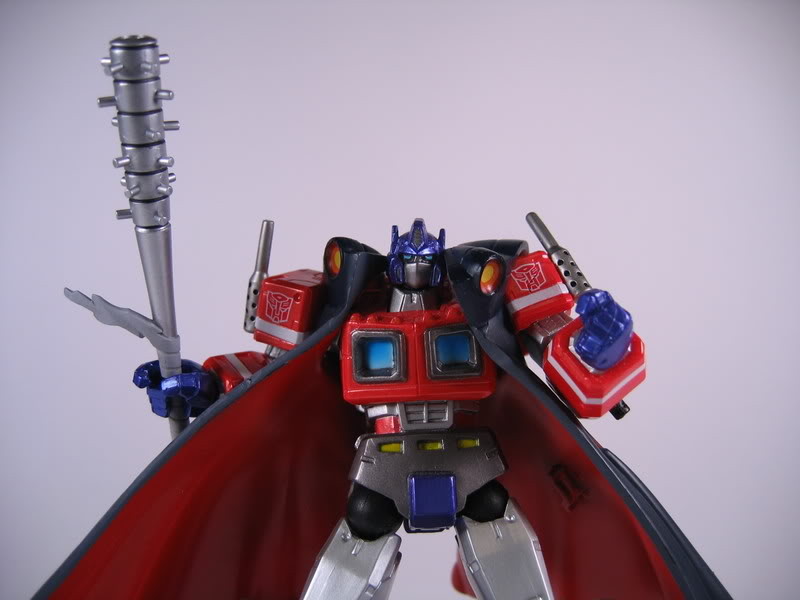 revoltech transformers kaiyodo optimus_prime hasbro convoy takara_tomy yamaguchi_katsuhisa toppu_o_nerae_2! buster_machine_dix-neuf
