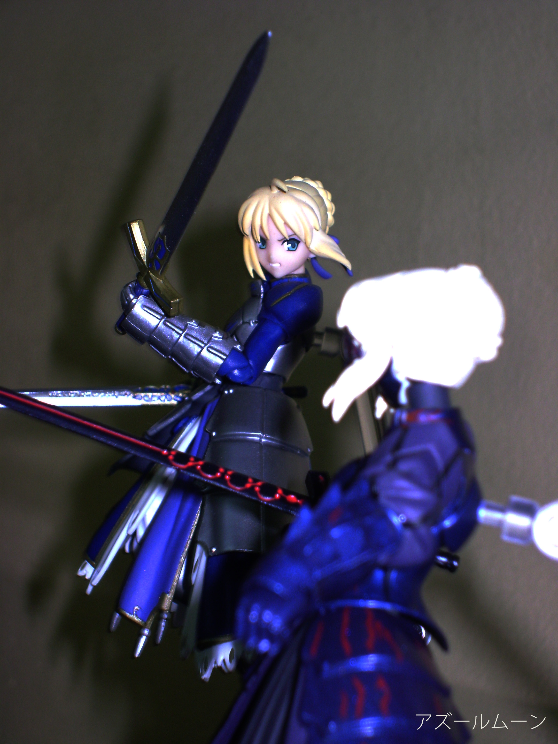 figma blond_hair saber night stay