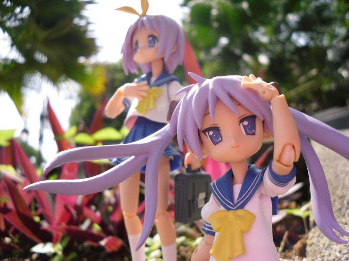 figma max_factory hiiragi_tsukasa hiiragi_kagami lucky☆star asai_(apsy)_masaki