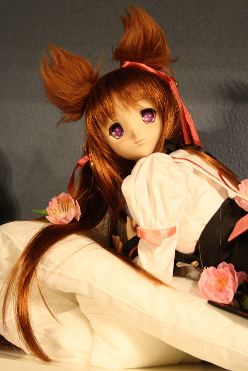 volks dollfie_dream mito_mashiro zoukei-mura soft_vinyl misaki_serika tayutama_-kiss_on_my_deity-