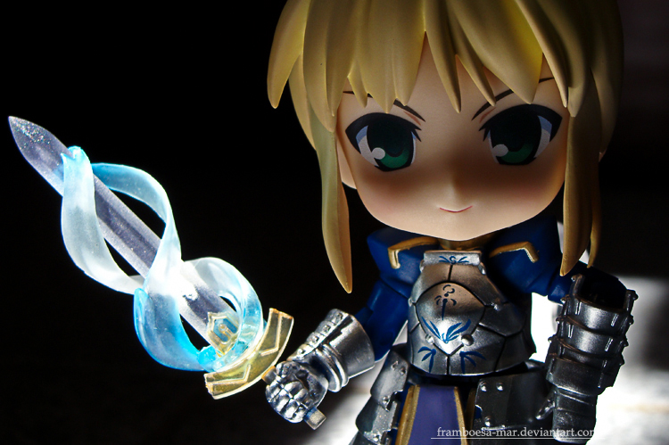 nendoroid saber fate/stay_night excalibur