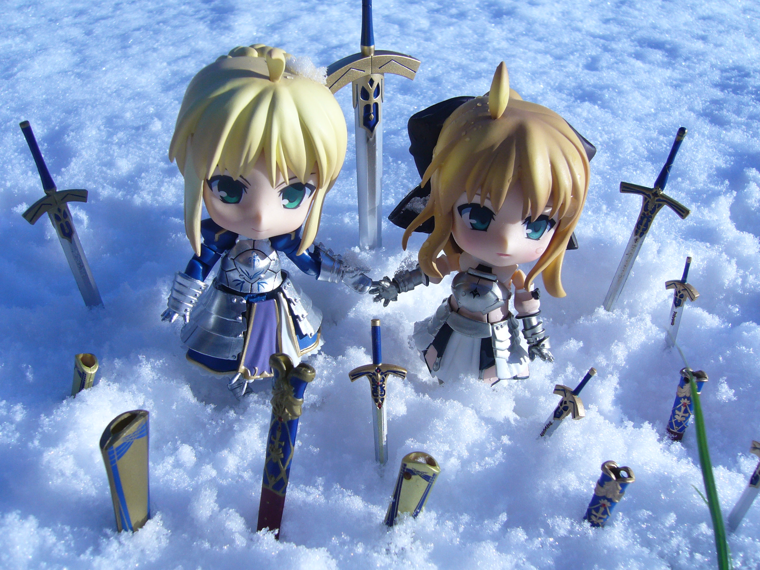nendoroid saber saber_lily good_smile_company fate/stay_night nendoron fate/unlimited_codes oda_tsuyoshi takano_meishi