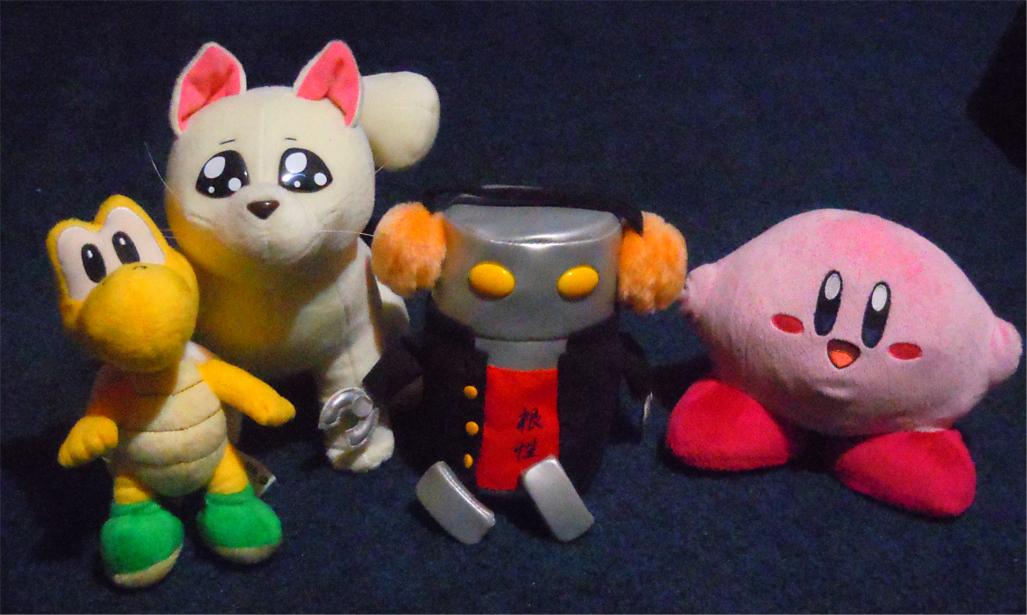 excel_saga menchi kirby adv_toys hoshi_no_kirby san-ei