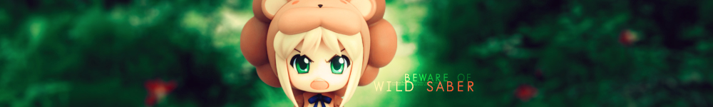 nendoroid saber saber_lion 1day1pic photoshop
