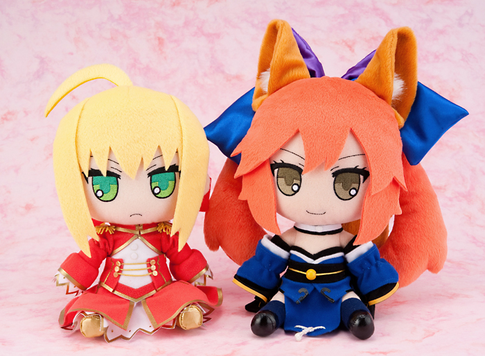 gift nendoroid_plus type_moon saber_extra fate/extra caster_extra