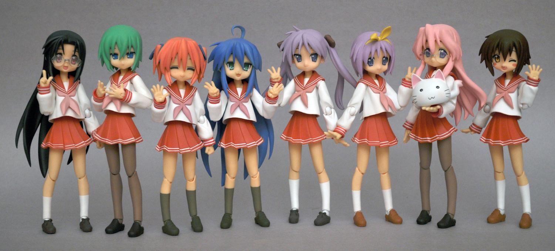 figma max_factory hiiragi_tsukasa hiiragi_kagami izumi_konata takara_miyuki lucky☆star asai_(apsy)_masaki