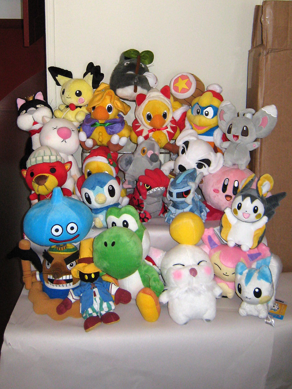 square_enix slime plush nintendo chocobo pocket_monsters moogle pichu yoshi dragon_quest dialga final_fantasy_xiv kirby cait_sith animal_crossing final_fantasy_x polyester kuplu_kopo super_mario_brothers pochama pokémon_center chillarmy tsutarja sanei_boeki the_pokémon_company_international chocobo_no_fushigi_na_dungeon:_tokiwasure_no_meikyuu hoshi_no_kirby hal_kenkyuujo san-ei doubutsu_no_mori smile_slime totakeke rakosuke groudon reset-san dedede_daiou emonga mamepato eneko pocket_monsters_white pocket_monsters_black pokédoll game_freak pokécen_plush oide_yo_doubutsu_no_mori creatures_inc.