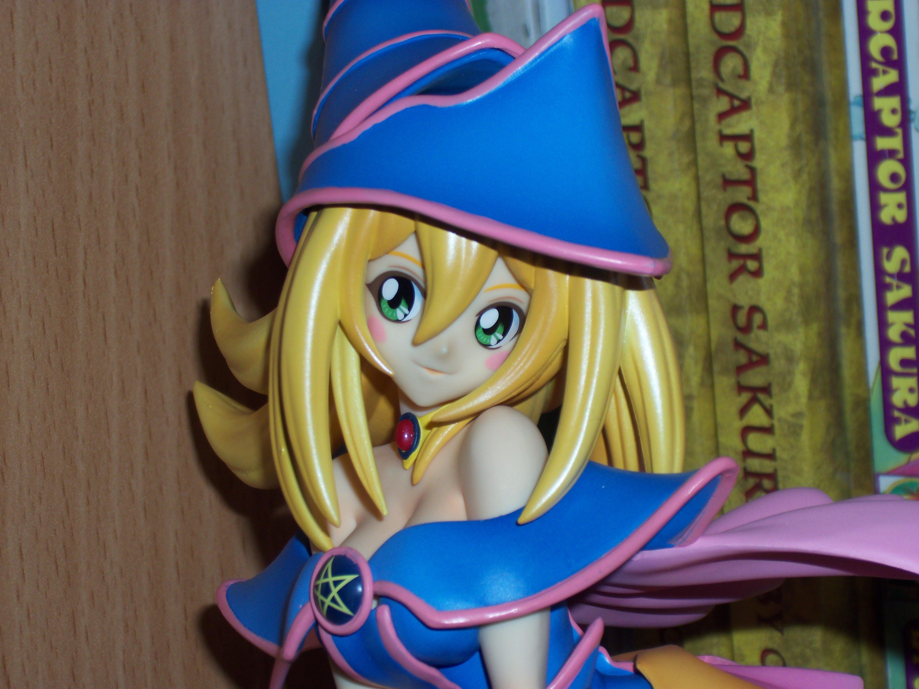 kotobukiya black_magician_girl yu-gi-oh!