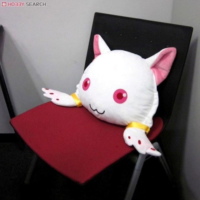 chara-ani cushion kyuubey cotton mahou_shoujo_madoka★magica polyester