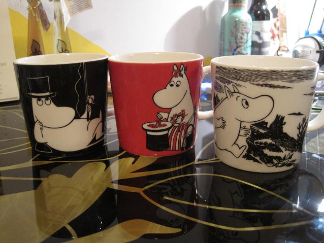 cup mug porcelain moomin