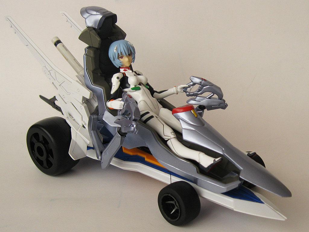 figma car racing max_factory ayanami_rei customized race evangelion_shin_gekijouban asai_(apsy)_masaki