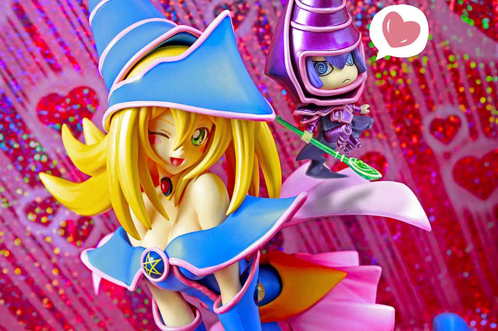 kotobukiya black_magician_girl one_coin_grande_figure_collection shueisha yu-gi-oh! shirahige_tsukuru yu-gi-oh!_duel_masters_one_coin_grande_vol._2_~ancient_duel~ black_magician takahashi_kazuki yu-gi-oh!_duel_monsters nihon_ad_systems one_coin_grande_figure_collection_yu-gi-oh_duel_monsters_vol._2_~ancient_duel~