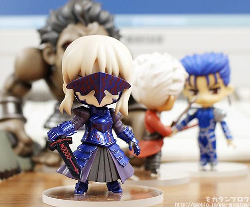 archer nendoroid_petit nendoroid saber_alter good_smile_company fate/stay_night lancer berserker