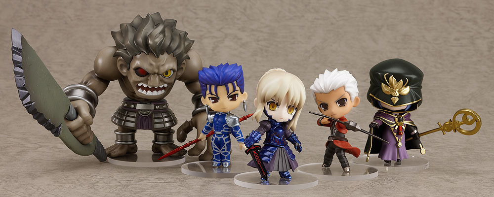 archer nendoroid_petit nendoroid saber_alter good_smile_company fate/stay_night lancer caster berserker