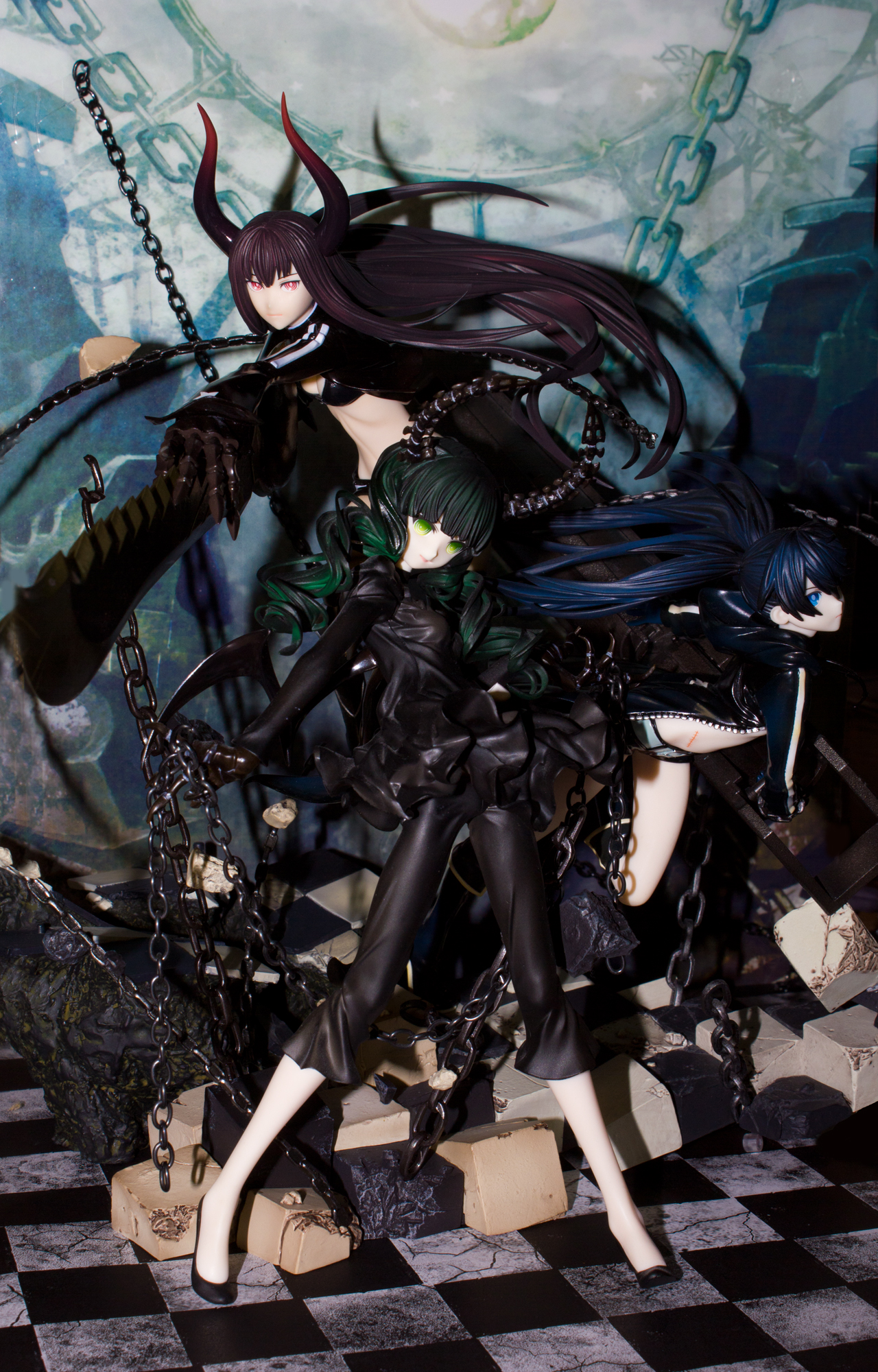 good_smile_company dead_master akeji black_★_rock_shooter kawanishi_ken black_★_gold_saw