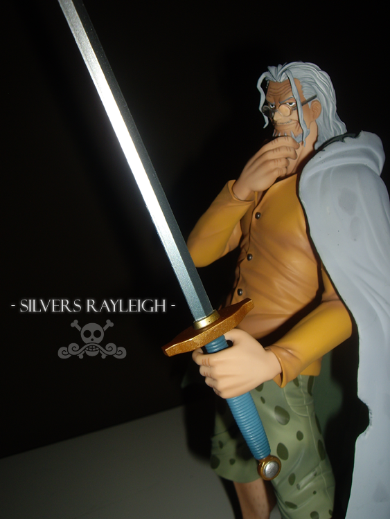 megahouse one_piece portrait_of_pirates_dx silvers_rayleigh