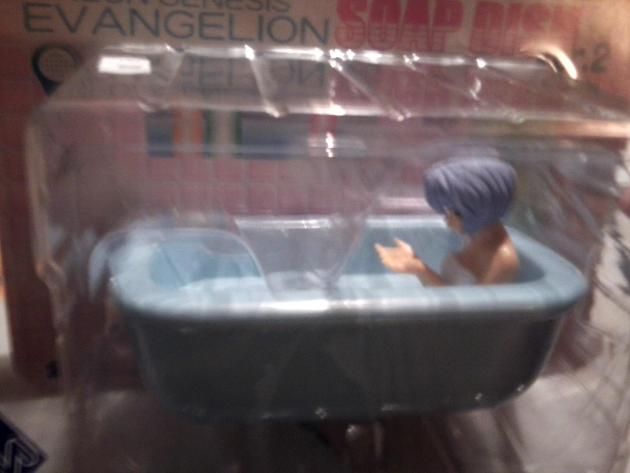 gainax sega ayanami_rei shin_seiki_evangelion soap_dish