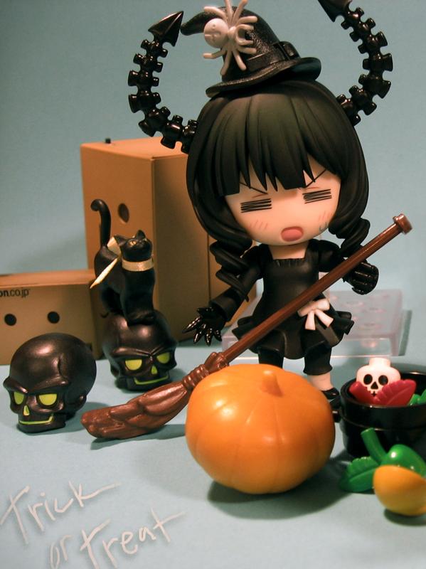 cat pumpkin revoltech skull halloween nendoroid kaiyodo good_smile_company danboard baka_to_test_to_shoukanjuu kinoshita_hideyoshi dead_master black_★_rock_shooter jun_(e.v.) taira_hitoshi enoki_tomohide yotsuba&!