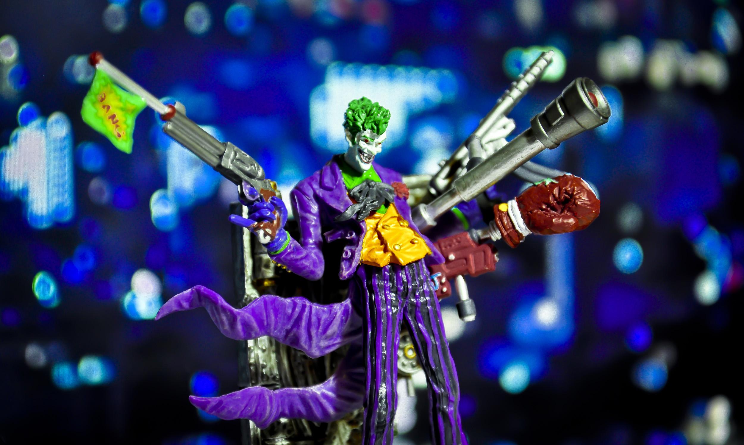 kotobukiya weapons green_eyes joke_weapon batman joker