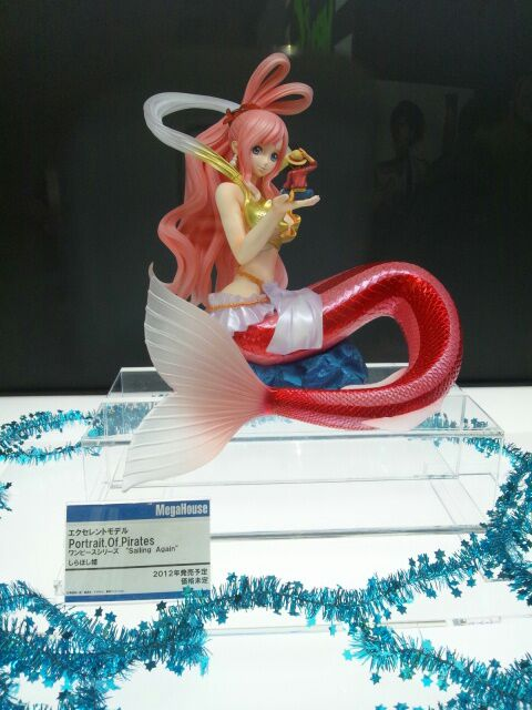 "megahouse one_piece portrait_of_pirates_""sailing_again"" shirahoshi"