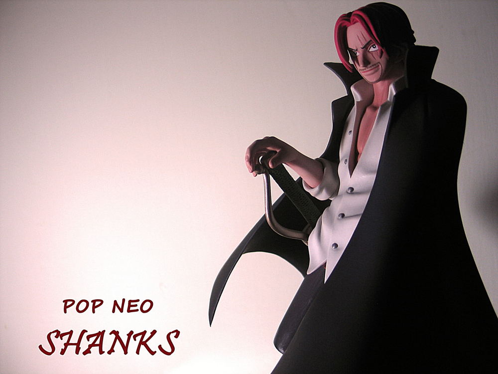 megahouse one_piece portrait_of_pirates_neo red-haired_shanks