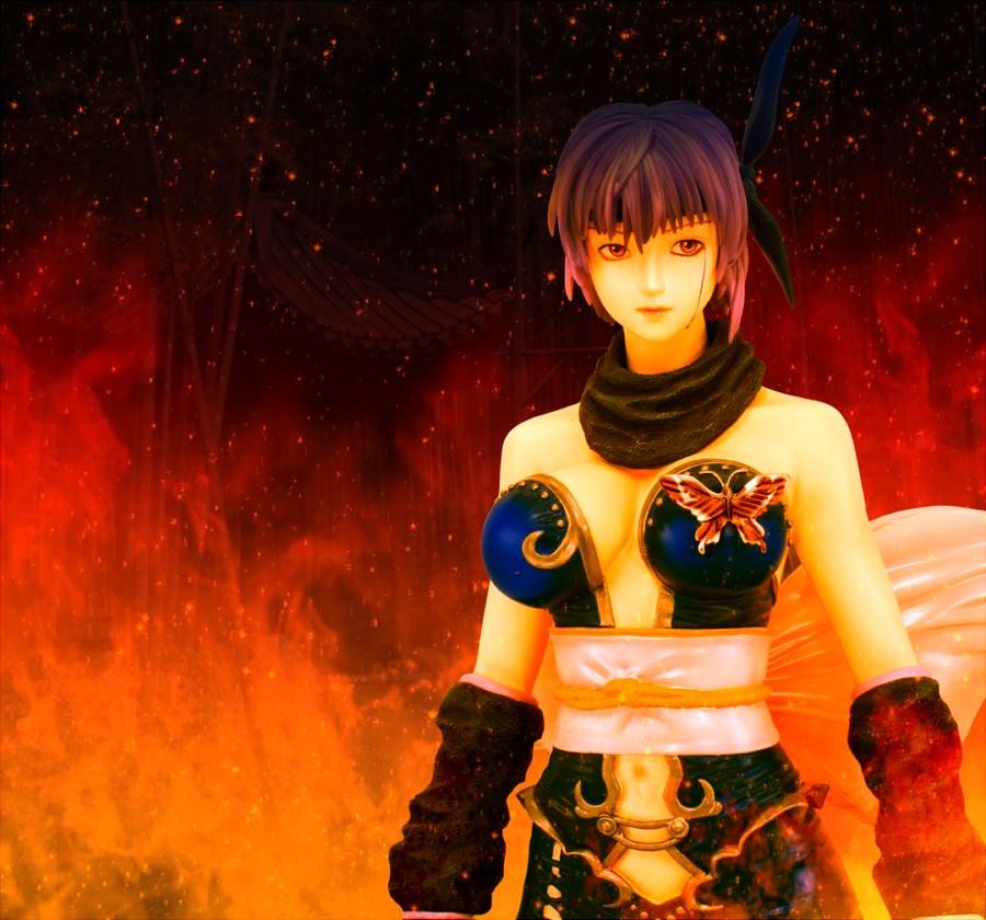 resin volks ayane chorosuke ninja_gaiden_sigma_2