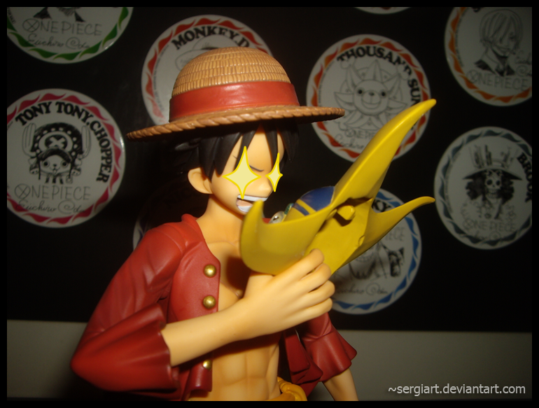 "megahouse one_piece monkey_d._luffy sogeking attm portrait_of_pirates_neo portrait_of_pirates_""sailing_again"""