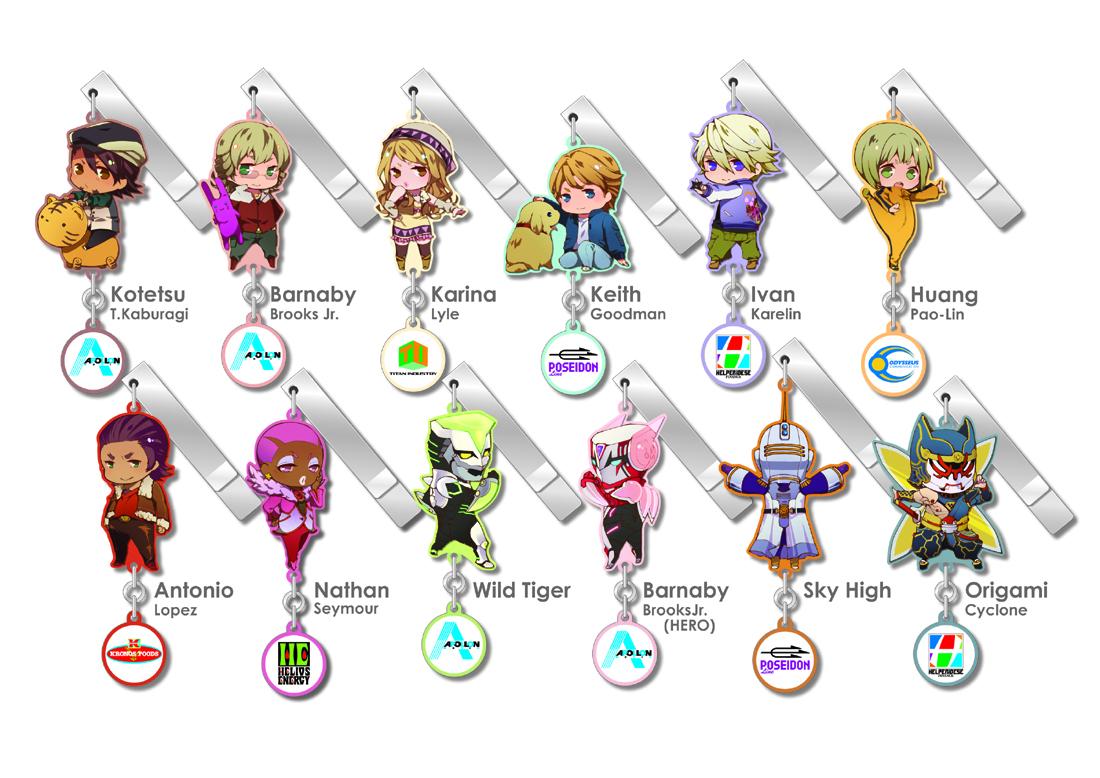 plex tiger_&_bunny sky_high origami_cyclone keith_goodman karina_lyle ivan_karelin kaburagi_t._kotetsu barnaby_brooks_jr. huang_pao-lin antonio_lopez nathan_seymour clip tiger_&_bunny_-_yurayura_clip_collection tiger_&_bunny_-_yura-yura_clip_collection