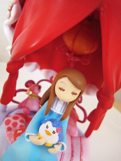 mawaru_penguindrum takakura_himari penguin_3-gou kuroneko_crown